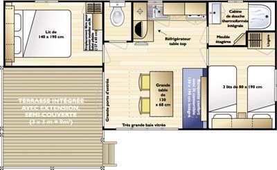 Mobil-Home Confort Loggia