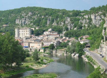 Vogüé - Typical Ardèche village